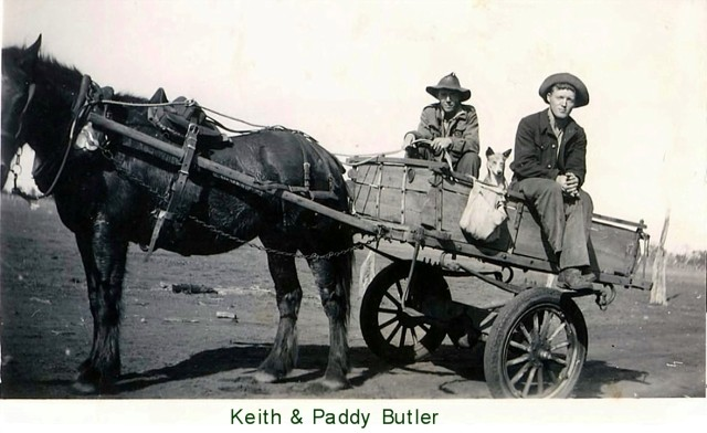 Keith and Paddy Butler