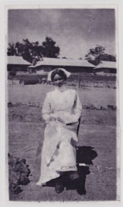 Nell Stafford. Sr. Stafford. Youngest Nursing Matron in WA