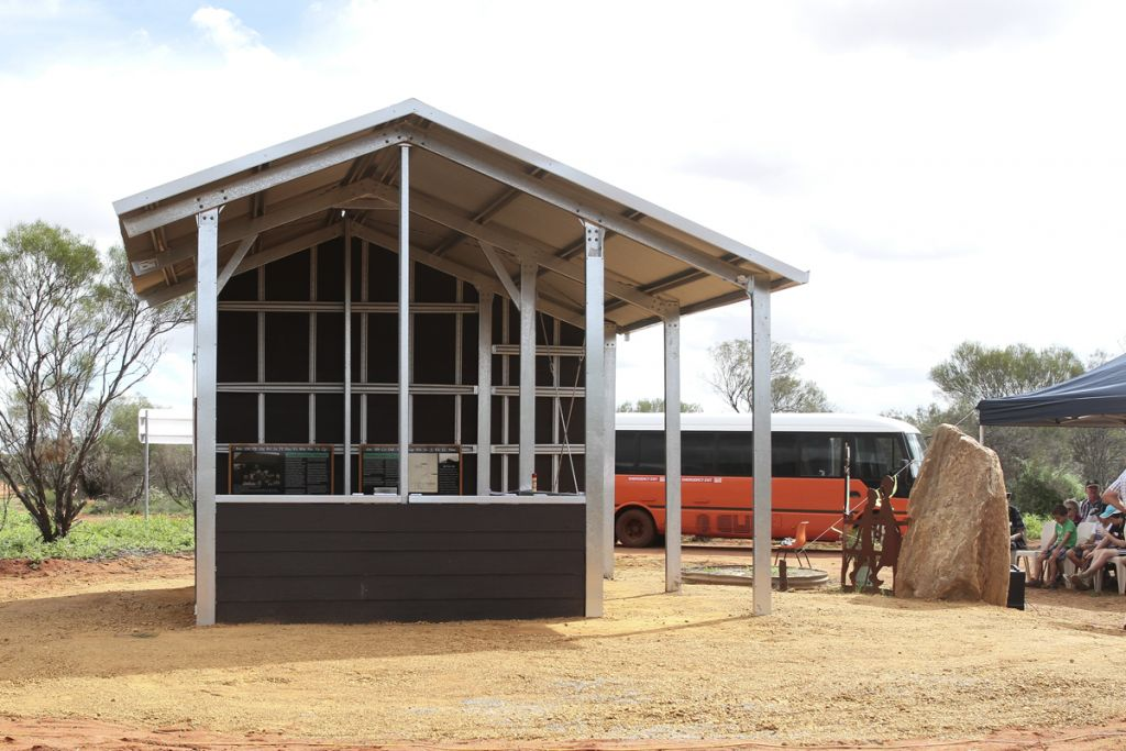 Tenindewa replica school buildng
