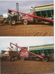 hyd lift for 2 different seeders