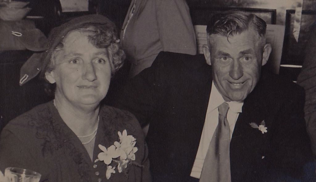 Del's Parents, George and Grace Eves